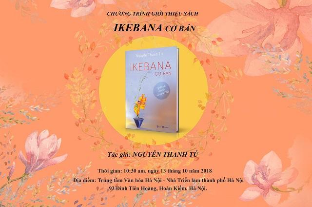 Ra mắt sách Ikebana cơ bản 2018